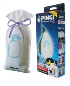 PINGI BAG: innovative humidity absorber