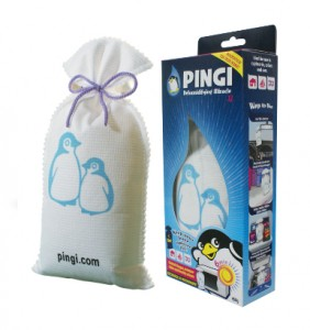 PINGI XL: Humidity Absorber product for larger areas in homes, boats, & caravans